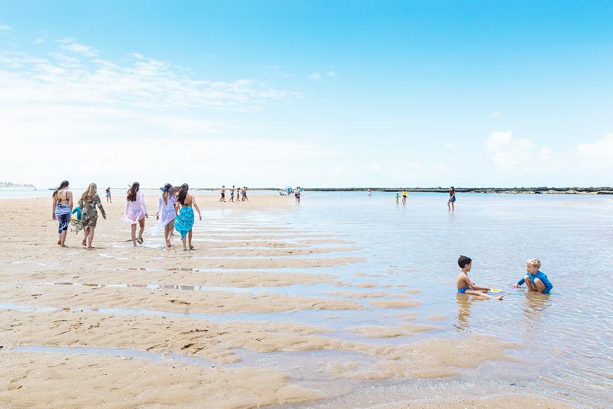 Praias Paradisíacas em Alagoas - Praia do Gunga