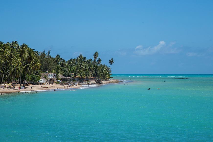 Praias paradisíacas em Alagoas - Japaratinga