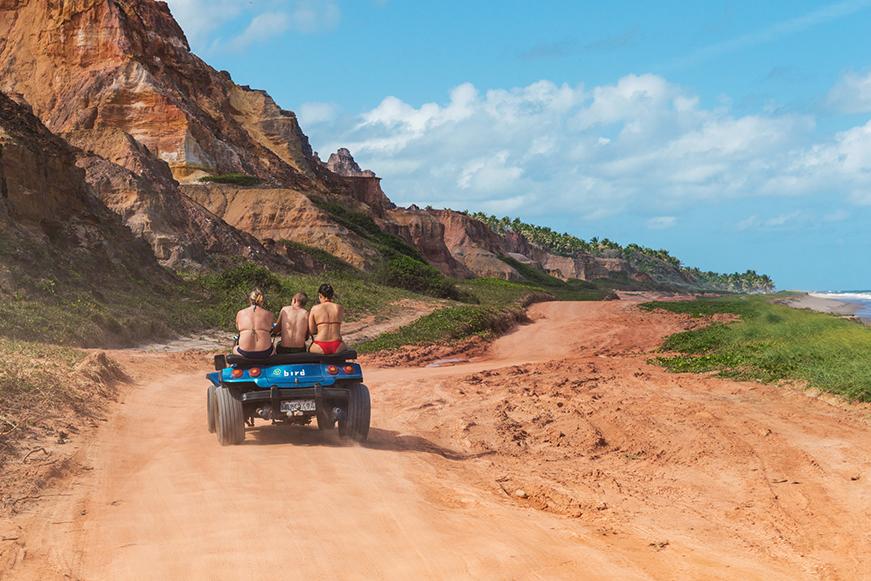 O que fazer em Maceió - Praia do Gunga