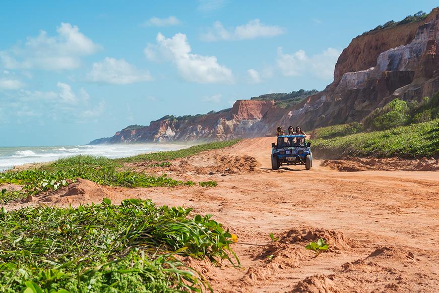 Praia do Gunga - Falesias