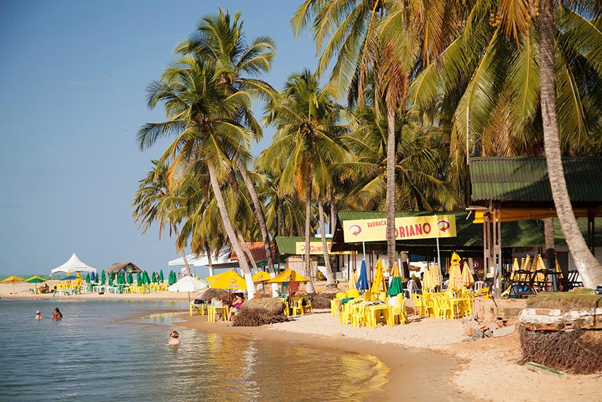 Praia do Gunga - Orla