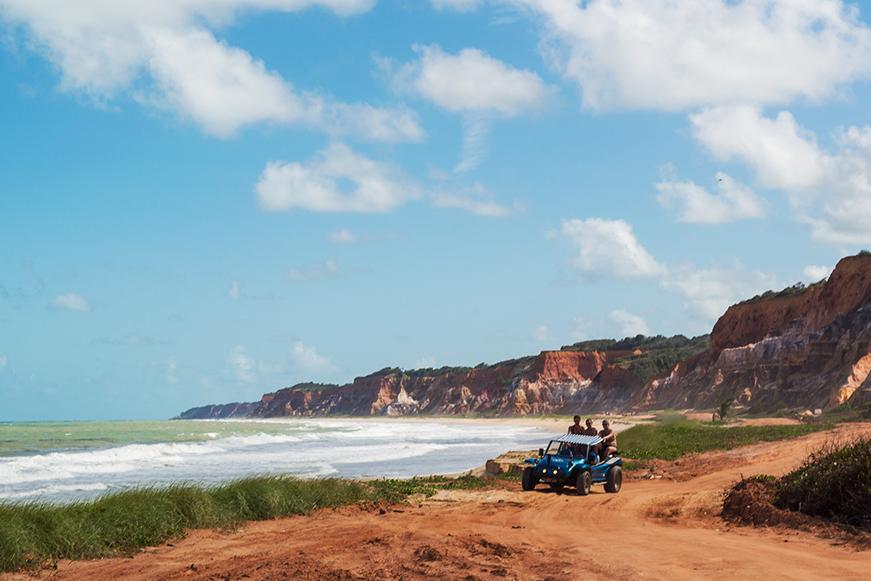 Litoral Alagoano - Praia do Gunga