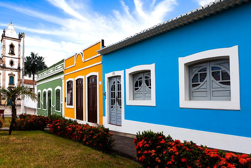 Marechal Deodoro - Casas coloridas