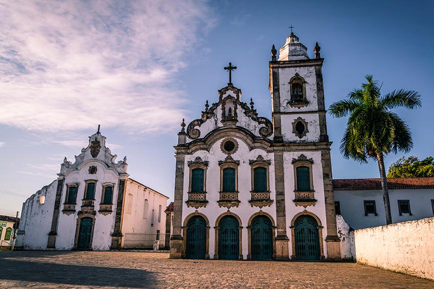Igreja Santa Maria Madalena e Museu de Arte Sacra, Praça João XXIII, Marechal Deodoro, Maceió.